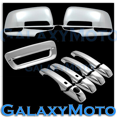 14-15 Jeep Grand Cherokee Mirror Door handle Tailgate Fog Lamps SK Chrome Covers