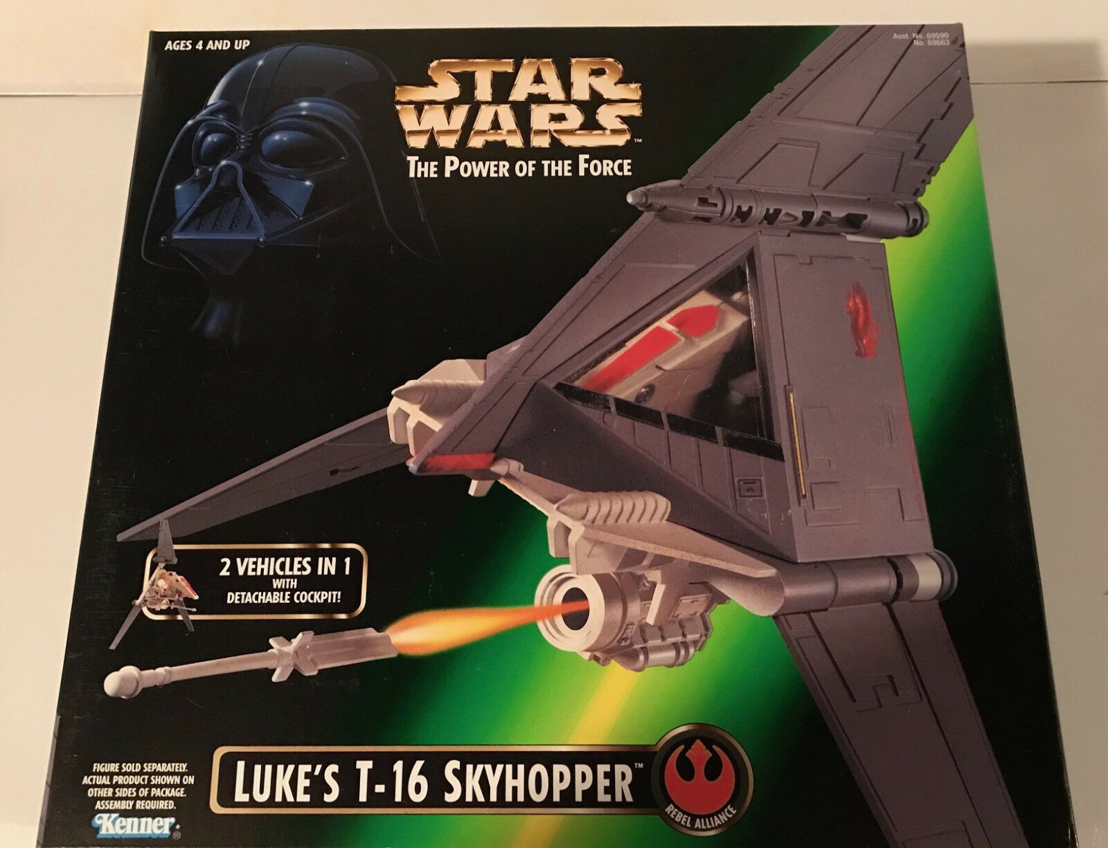 SW POTF Luke's T-16 Skyhopper (New in Mint Box) Brand New and Unopened