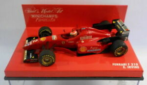 Minichamps-Escala-F1-1-43-430-960002-Ferrari-F-310-E-Irvine
