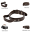 thumbnail 10 - Leather-Dog-Collar-With-Handle-For-Dog-Pet-Control-Training-Heavy-Duty-M-L-XL