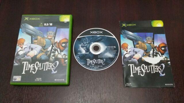 TimeSplitters 2 (Microsoft Xbox) versión europea PAL