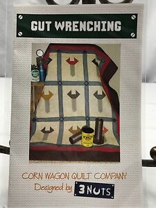 Gut-Wrenching-Quilt-Pattern-Masculine-Corn-Wagon-Quilt-Company-Approx-52-034-x58-034