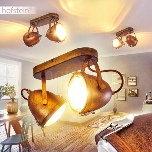 Decken Beleuchtung Vintage Küchen Dielen Strahler Holz Wohn Schlaf Zimmer Lampen