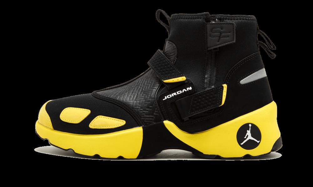 Nike Air Jordan x SoleFly Trunner LX High BLACK BLACK BLACK