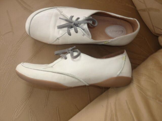 Clarks Sneaker, Leder, Gr. 7 Neu