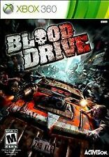 Blood Drive RE-SEALED Microsoft Xbox 360 GAME BD BLOODDRIVE