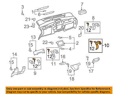 Chevrolet GM OEM Cruze Instrument Panel Dash-Air Vent Grille Right 95488441