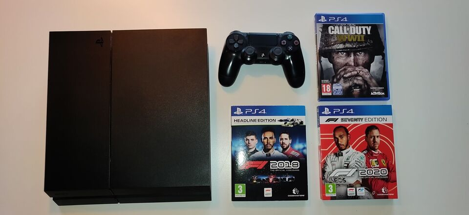 Playstation 4, 500 gb, God