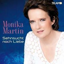 MONIKA MARTIN - Sehnsucht Nach Liebe -- CD  NEU & OVP VVK 30.09.2016