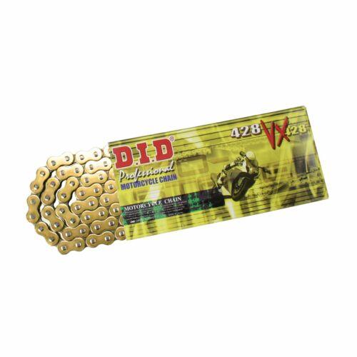 DID Kette GOLD extra verstärkt Sachs ZZ 125 97-02 2-Takt CLIPschloß