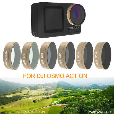 STAR CPL ND4 ND8 ND16 ND32 Lens Filter Kit for DJI Osmo Action Camera Accessory
