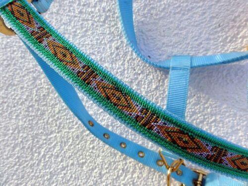 Licou # Ethno # Diverses Tailles couleurs écurie Licou Pâturage Licou B *