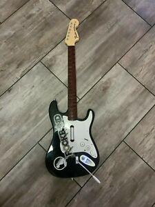 Rock Band Fender Strat Harmonix Nintendo Wii Guitar Controller No Dongle Works