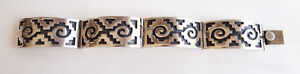 Vintage-Taxco-Sterling-Silver-Bracelet