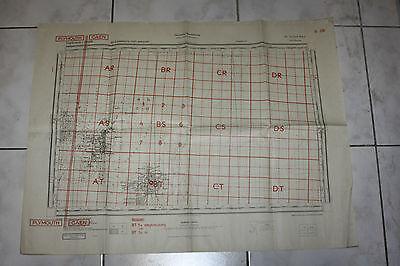VERY RARE 2 normandy german maps 1944 DDAY utah beach cherbourg  !!!!