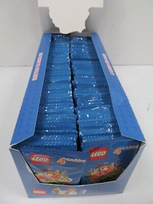 Learn Play Create Lego Incredible Inventions Cards,300 x 4 =1200 Cards Collect