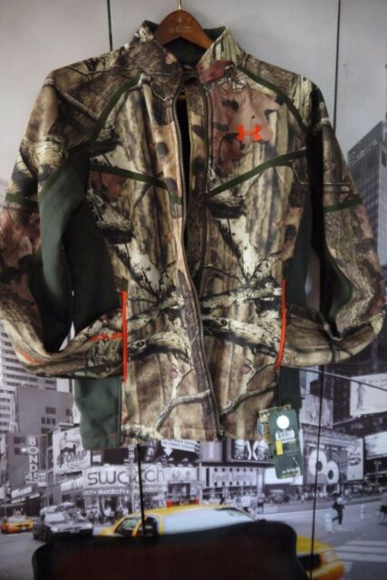 d1d91357261ad Under Armour Ridge Reaper Softshell Camo Hunting Jacket Size M Originally