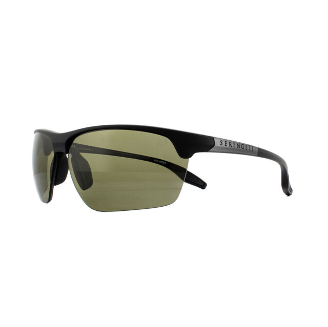 3160dc5005 Serengeti Sunglasses Linosa 8748 Satin Black Gunmetal PhD 555nm Green  Polarized