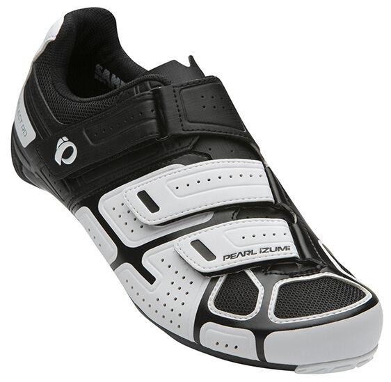Pearl Izumi Select de camino para Bicicleta Ciclismo Zapatos Iv blancoo Negro - 40