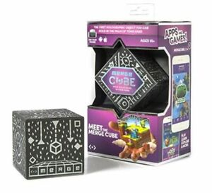 Details about Merge Cube Holographic Handheld ARVR Holograms Use Phone Android & Apple NIB