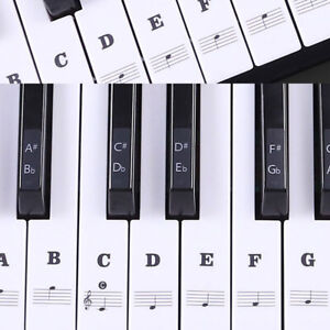Piano-Stickers-For-88-61-54-49-Key-Keyboards-Transparent-And-Removable