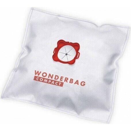 Wonderbag Compact WB3051 Confezione 5 Saccheti per Aspirapolvere Rowenta