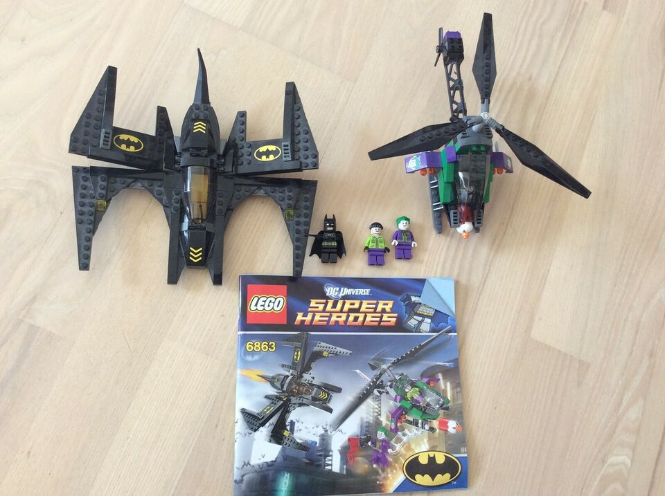 Lego Super heroes, 6863