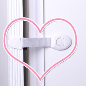 10Pcs-Baby-Kids-Cabinet-Cupboard-Drawer-Door-Toddler-Easy-Belt-Safety-Locks