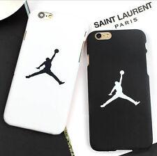 For iPhone6 6plus iPhone7 7 plus Classic Jordan Black&White Couple hard case