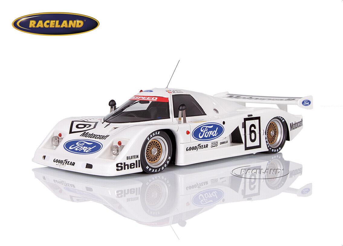 Ford C100 Zakspeed Ford Motorcraft Le Mans 1982 Ludwig Surer, TecnoModelll 1 18