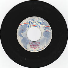 JEB STUART AND THE CHIPPERS -PHILLIPS INTERNATIONAL R&B 45 I AINT NEVER