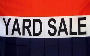 Yard Sale Red White & Blue 3x5 Flag Business Advertising Display Banner