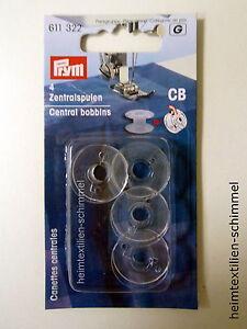 PRYM-Naehmaschinenspulen-Zentralspulen-Kunststoff-transparent-CB-Spulen-611322