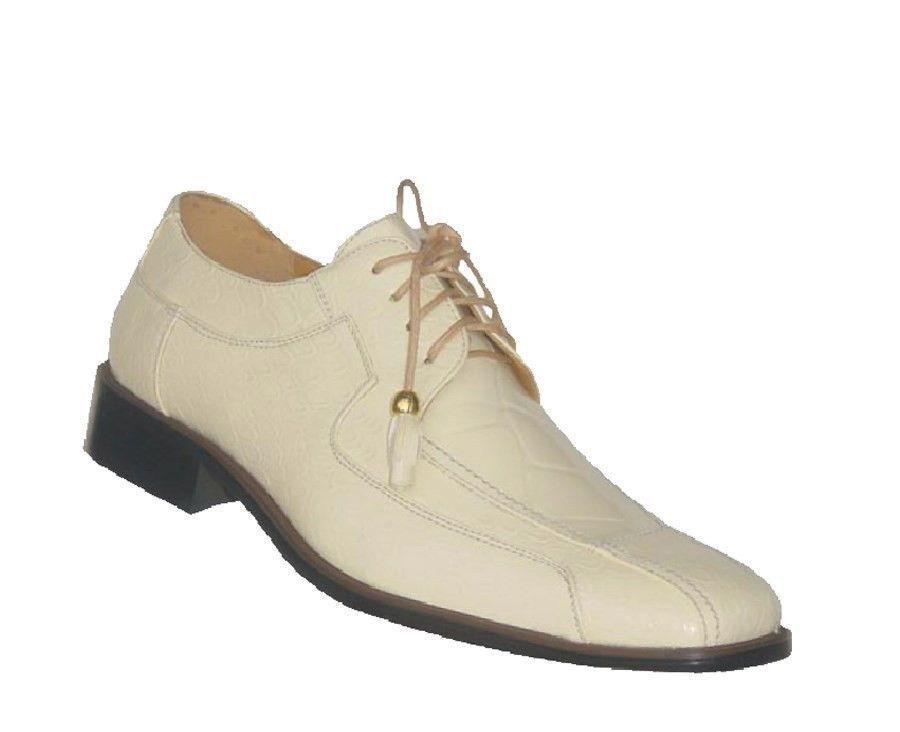 TempéRé Homme Haute Qualité Oxford Synthétique Chaussures Cuir Habillées Crème Size 8.5 Les Clients D'Abord