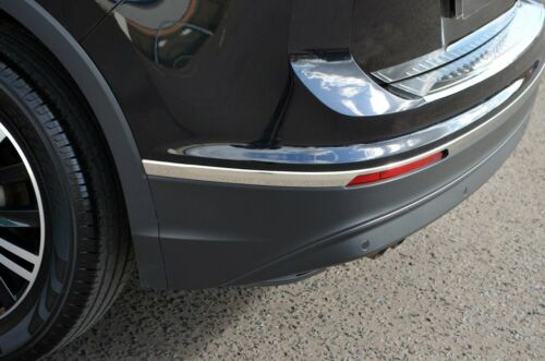 2016+ Chrome Pare-chocs arrière Accent Trim Covers to fit Volkswagen Tiguan