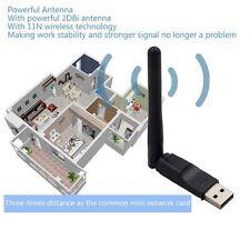 ADAPTADOR RED WIFI CON ANTENA USB 150 MBPS LAN INALÁMBRICO WIRELESS