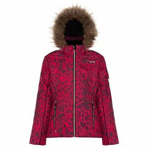 Dare-2b-affidare-ragazze-impermeabile-giacca-da-sci-isolato-leopardato-Cappotto