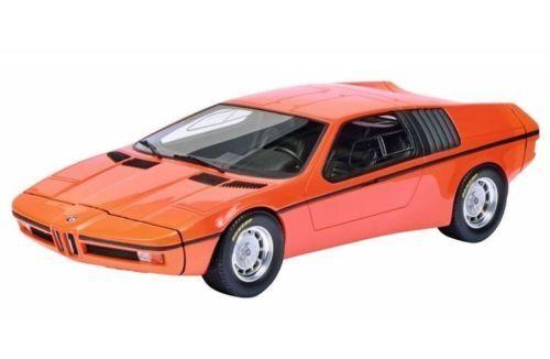 1972 BMW X1 E25 TURBO orange 1 18 MODEL CAR BY SCHUCO 450008900