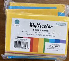 ColorBok 73854 Scrap Pack 1 LB Paper Multicolor