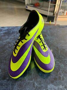 Apoyarse Coca en progreso  nike hypervenom phatal fg Electro Purple Volt Black Soccer Cleats Size Mans  9.5 | eBay