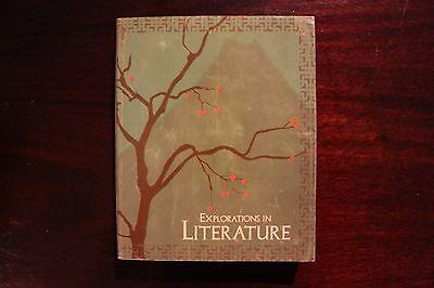 Explorations in Literature Bob Jones student textbook  homeschooling BJU 7TH GR