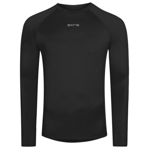 Skins dnamic Force Thermal Messieurs Fonction Shirt Sport Compression Shirt nouveau