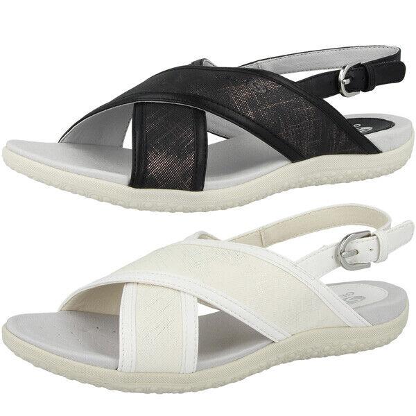 GEOX D Sand.Vega C Schuhe damen Damen Sandalen Freizeit Sandaletten D92R6C00454C