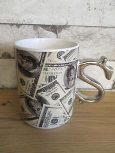 100 Dollars $ Tasse à Café Souvenir Tasse Coffee Mug Usa Amérique-afficher Le Titre D'origine