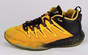 Dettagli su Nike Air Jordan Ragazzi Bambini Giallo Dragone Oro Nero Scarpe da Basket