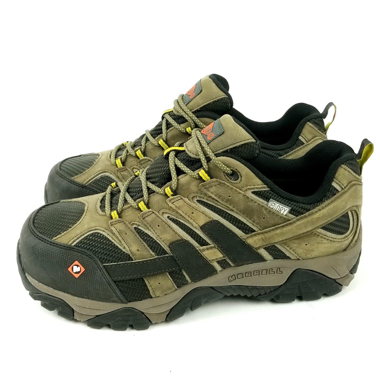 Merrell Moab 2 ventilación para hombre Impermeable Zapato De Trabajo Con Puntera De Seguridad De Acero Comp