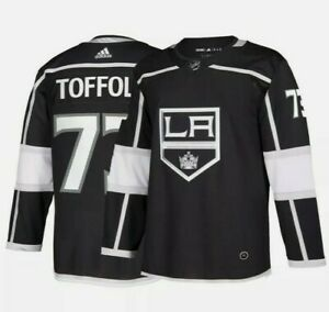 Tyler Toffoli Los Angeles Kings NHL Adidas Black Authentic Climate Jersey 46 S