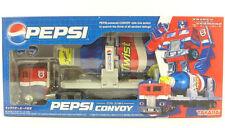 Hasbro Transformers Pepsi Convoy Trailer Optimus Prime Botcon 2007 Action Figure