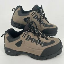 Wrangler Work Construction Steel Toe Lace Up Brown Black Shoes Mens Size 10