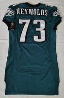 #73 Matt Reynolds Authentic Team Issued/Player Worn Eagles Nike Jersey
